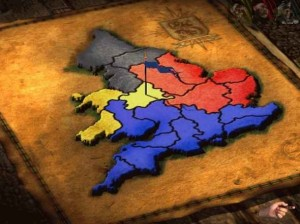 stronghold map of britain