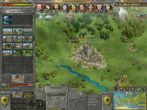 screenshot of a battle knights of honor