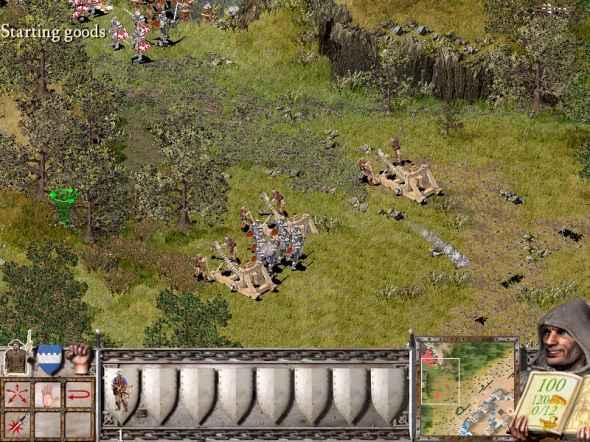 stronghold starting goods